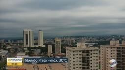 Confira a previsão do tempo para quinta-feira (13) em Ribeirão Preto