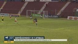 Sertãozinho-SP empata com o Atibaia pela Série A2 do Campeonato Paulista