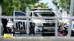 Cena do crime contra Cid Gomes foi alterada após disparos