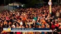 Maria Clara é uma das atrações do sábado de Carnaval em Acopiara