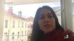 #InTodoCantoTemCearense: Raquel Baima mora em Grenoble, na França, e fala sobre quarentena