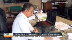 Governadores dos estados do Nordeste se reúnem para discutir ações de combate ao Covid-19