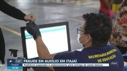 Itajaí suspende cadastramento para entrega de cestas básicas após registrar fraudes