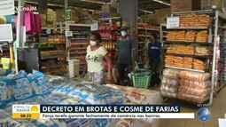 Prefeitura faz operação para garantir cumprimento de decreto em Brotas e Cosme de Farias