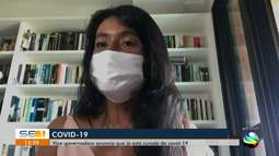 Vice-governadora anuncia que já está curada da Covid-19