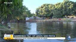 Barreiras completa 129 anos, mas isolamento social impede celebrações na cidade