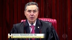 Ministro Luís Roberto Barroso toma posse na Presidência do Tribunal Superior Eleitoral