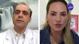 Dr. Eduardo Martins conversa com Grazi Batista e dá dicas para a saúde