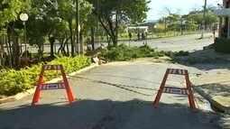 Efeito do 'ciclone bomba' provoca rajadas de vento acima de 90 km/h em Itapeva