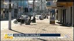 Entra em vigor novo decreto de Catalão