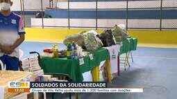 Grupo de Vila Velha ajuda mais de 1.200 famílias com doações