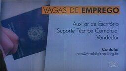 Confira vagas de emprego em Goiás