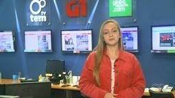 Júlia Martins traz os destaques do G1 nesta terça-feira no TEM Notícias