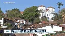 Hotéis e pousadas não têm mais vagas para turistas, em Pirenópolis