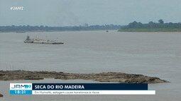 Seca do Rio Madeira causa transtornos