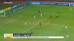 Futebol: Bahia enfrenta o Goiás, lanterna do Campeonato Brasileiro, nesta sexta-feira