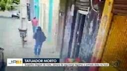 Tatuador é morto a tiros dentro do próprio estúdio, em Aparecida de Goiânia