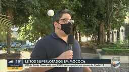 UTI da Santa Casa Mococa está com 100% de ocupação por causa da Covid-19