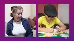 Projeto aproxima crianças e idosos no dia das mães