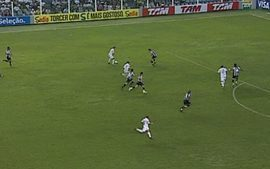 Melhores momentos: Santos 1 x 1 Cear pela 2 rodada do Brasileiro 2010