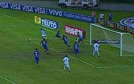 Os gols de Cruzeiro 2 x 2 Avaí pela 2ª rodada do Brasileiro 2010