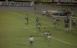 Em 1987, Bahia vence por 2 a 0 Palmeiras pelo Campeonato Brasileiro