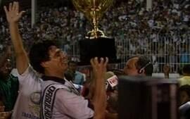 Em 1992, Vasco fica no 1 a 1 com o Flamengo e é campeão na 11ª rodada da Taça Guanabara