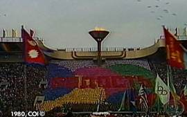 Olimpíada de Moscou (1980): Abertura