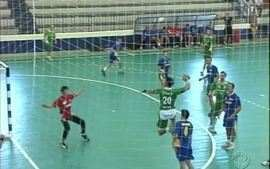 Campeonato de handebol em Umuarama