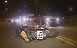 Motociclista morre aps acidente em Varginha (MG)