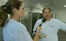 Conhea o trabalho da equipe de limpeza da Rodoviria do Plano Piloto