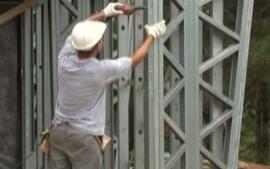 Técnica de Steel Frame dá agilidade à construção civil