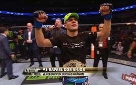 Rafael dos Anjos vence Anthony Pettis e é campeão mundial do UFC nos pesos leve