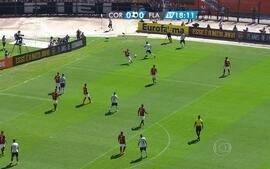 Os gols de Corinthians 2 x 2 Flamengo pela Copa SP de Futebol Júnior