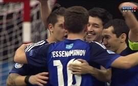 Os gols de Cazaquistão 5 x 2 Itália pelo Campeonato europeu de Futsal
