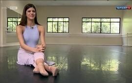 Conheça a história da menina que saiu de uma comunidade carente e virou bailarina