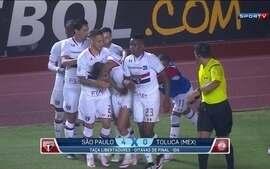 Melhores momentos de São Paulo 4 x 0 Toluca-MEX pela Libertadores
