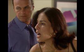 Anjo Mau: Nice tenta convencer Rodrigo de que Paula não está grávida
