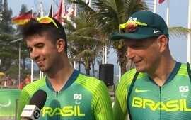 Lauro Cesar Chaman vibra com medalha inédita no ciclismo para o Brasil