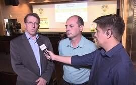 Dirigentes de Grêmio e Palmeiras analisam confronto entre os clubes na Copa do Brasil