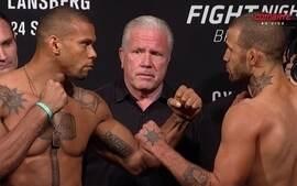Thiago Santos e Eric Spicely passam pela pesagem do UFC: Brasília