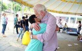 Globo promove ação da Semana de Educação no Retiro dos Artistas