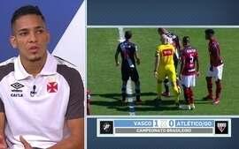 Gilberto, do Vasco, diz que equipe já se preocupa em buscar pontos fora de casa