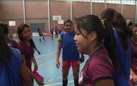 Time indígena feminino de futsal é destaque nos Jogos Escolares