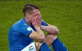 Itália chora a não classificação para a Copa do Mundo da Rússia em 2018