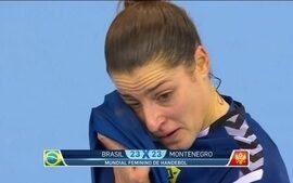 Seleção feminina de handebol é eliminada do Mundial após empatar com Montenegro em 23 a 23