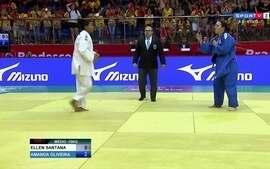 Amanda Oliveira vence Ellen Santana na seletiva nacional de judô