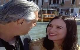 Helena e Atílio passeiam em Veneza