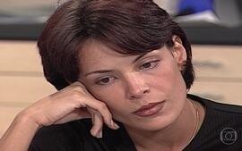 Milena sofre de saudades por Nando