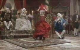 Carlota entra na dança espanhola